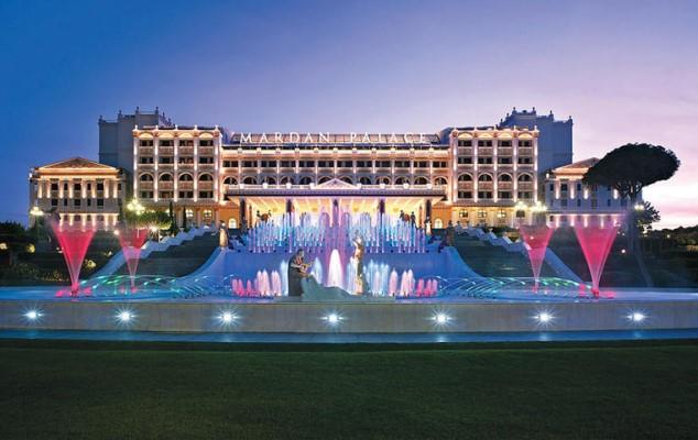 Mardan Palace Hotel'i Yağmalanmış...