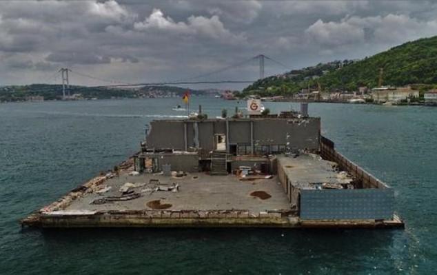 Galatasaray Adası 'nın Son Hali ...
