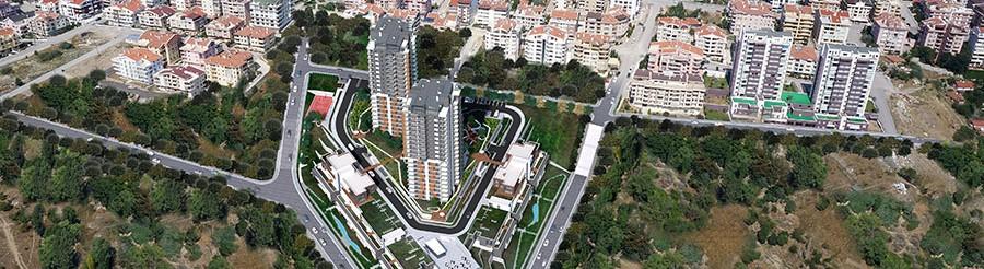 Nefis Çankaya Evleri - YP İnşaat A.Ş.